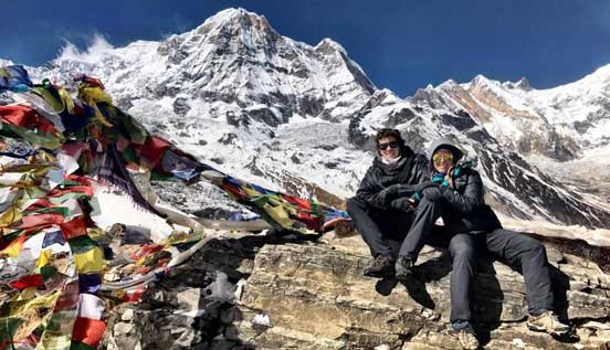 Join Annapurna base camp trek.