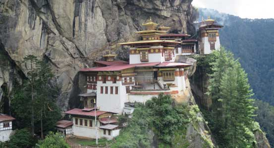 Tiger's nest or Takstang monastery.