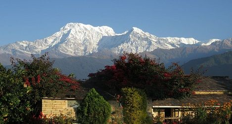 Day hiking around Pokhara