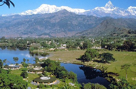 luxury hotel in Pokhara.