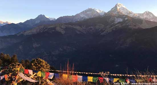 Ghorepani Poon Hill trek is a short trek in Annapurna