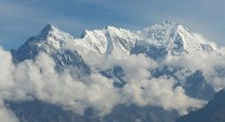 Langtang range seen on Gosainkunda trek