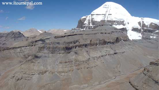 Mt Kailash and Nandi