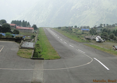 Lukla Airport, frist made by Sir Edmund Hilary