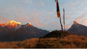 Mardi Himal trek is a short trek from Pokhara