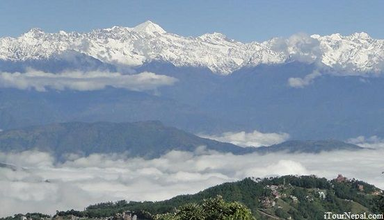 Himalayan seen from Nagarkot