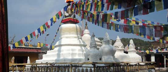Namo Buddha Stupa of great being full of compassion.