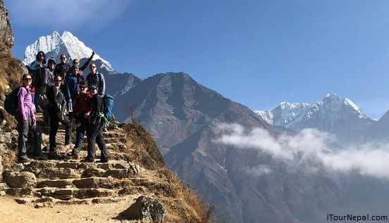 Short Everest trek in November