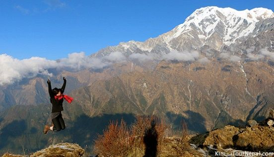 Nepal trekking in October