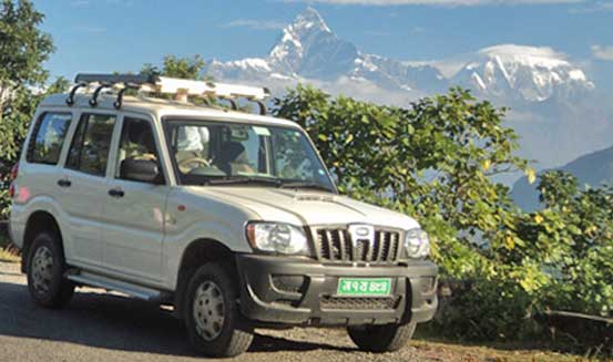 12 days Nepal driving tour.