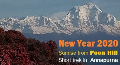 poon Hill trek for New year.