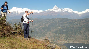Nepal walking holiday with pleasant hiking