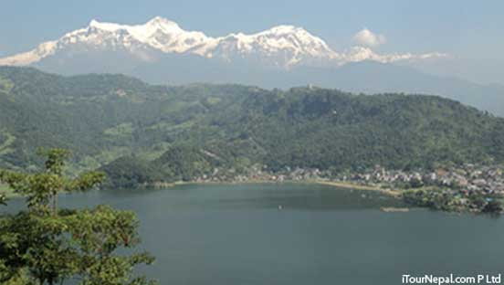 paragliding, ultra light flight, bungee jumping and hiking in Pokhara