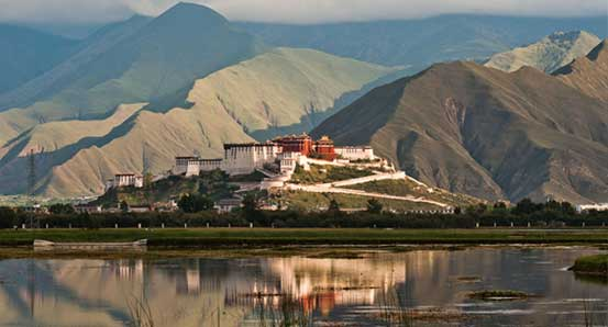 Potala palace Lhasa on Tibet overland tour
